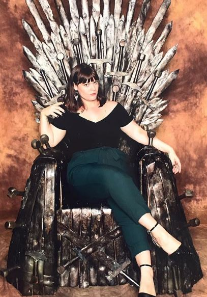 Michelle Johnson Iron Throne