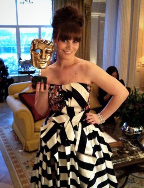 Michelle Johnson BAFTA